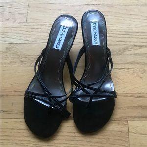 Steve Madden Women's black heels